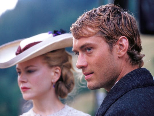 Nicole Kidman and Jude Law in 'Cold Mountain.'