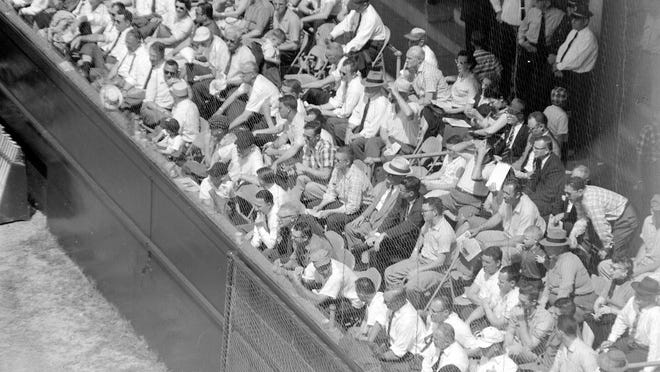 Seating for baseball games at Grayson Stadium was segregated for decades.
