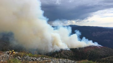 UPDATE: Berry fire stands at 150 acres