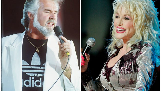 """This pair of country music superstars ignited a life-long friendship after working together on the hit """"Islands in the Stream"""" in 1983."""