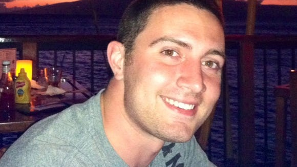 Alex Teves, 24. He was killed in the massacre at a theater in Aurora, Colo.