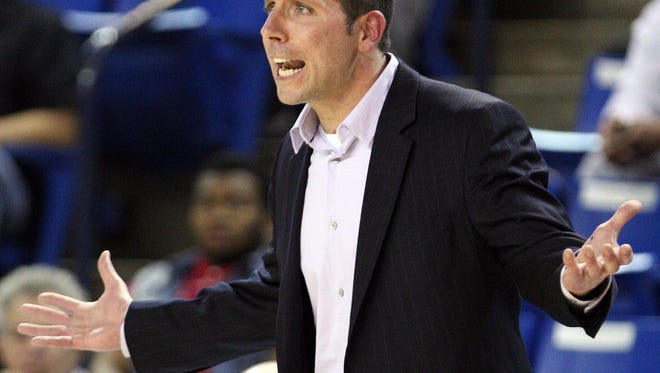 Ed Sobocinski, shown here during a game in 2013, is returning as Hodgson's boys basketball coach after a two-year hiatus.