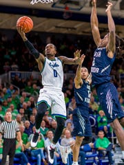 Junior point guard Brandon Goodwin, the ASUN Newcomer of the Year, leads  FGCU with an 18.2-point average.