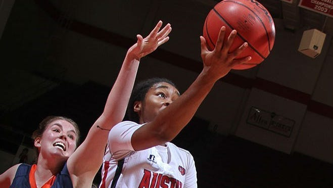 Austin Peay's Tiasha Gray is the OVC player of the week.