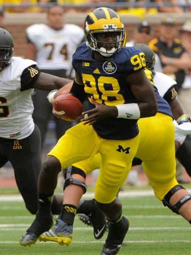 Devin Gardner: Michigan's starting quarterback suffered