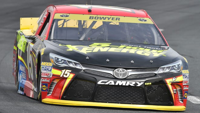 Clint Bowyer and his No. 15 Michael Waltrip Racing team were penalized for an illegally modified part two weeks ago at Chicagoland Speedway.