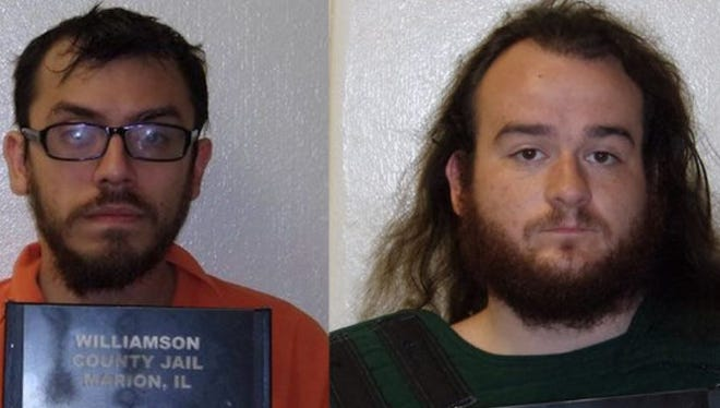 Juan E. Andrade and Jason St. Aubin, both from Creal Springs, Illinois, have been charged in the kidnapping of an Olive Branch teen.