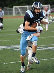 Ian Knoph racked up more than 100 receiving yards.