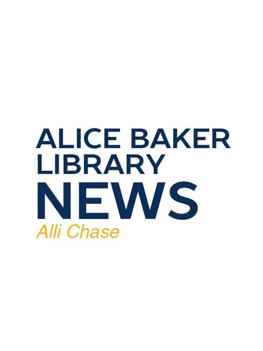 Alice Baker Library News