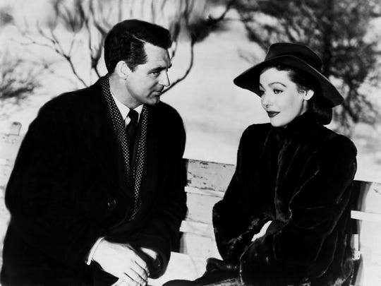 "Cary Grant plays an angel sent to Earth to help out a minister and his wife (Loretta Young) in ""The Bishop's Wife."""