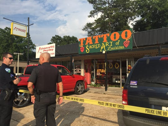 One person is dead after a Monday afternoon shooting at an Alexandria tattoo business, according to police.