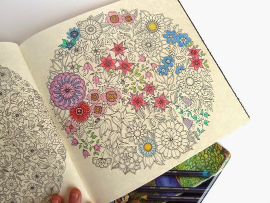 Coloring book for adults.