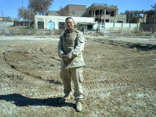 Marine Sergeant Kenny Lyon