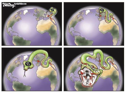 Desert Sun editorial cartoon 111915