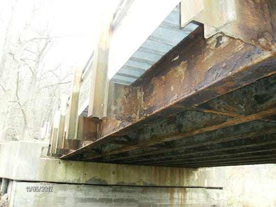 Deterioration to the Bromfield Road bridge is the reason it is being replaced in 2016.