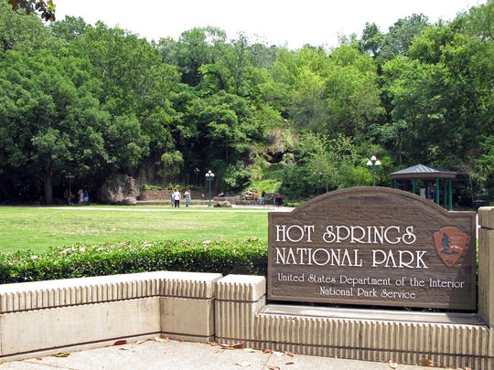 Hot Springs National Park is the smallest national