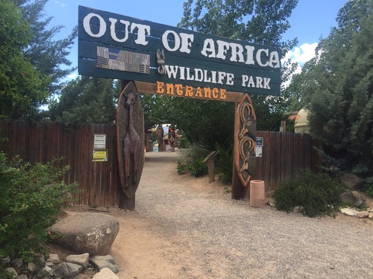 Out of Africa Wildlife Park in Camp Verde, Ariz., on May 6, 2016.