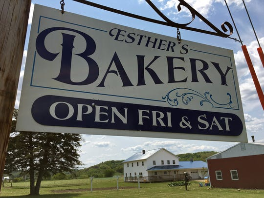 Esther's Bakery, S3303 Hwy. G, La Valle, is only open