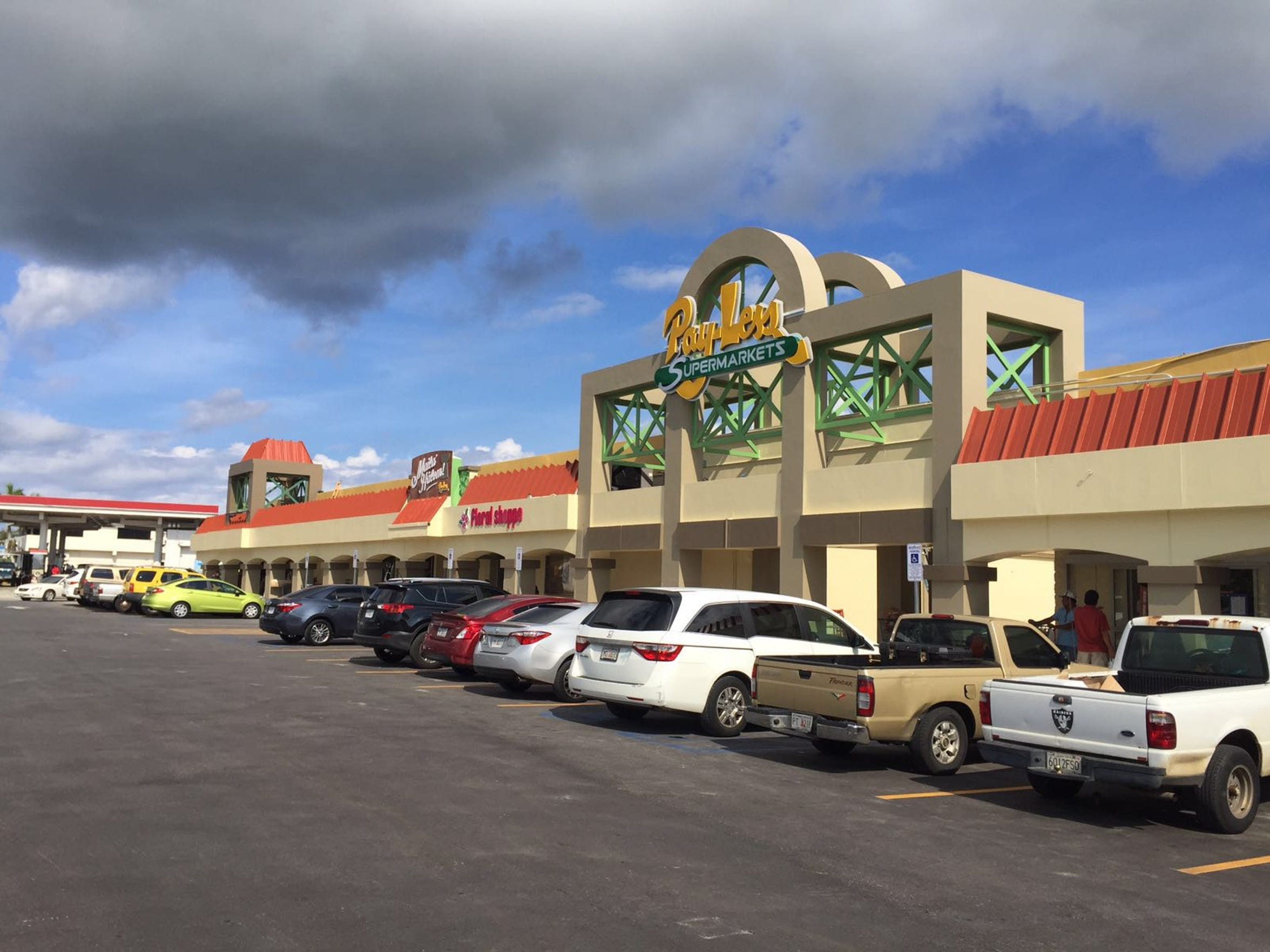 Pay-Less Supermarket in Dededo reopened on July 22,