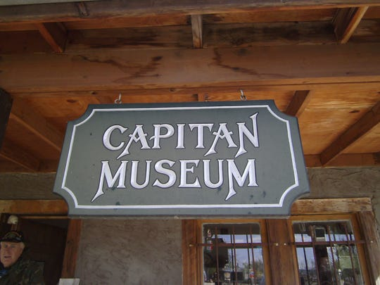 To visit Capitan's captivating Museum yourself, it's on the left going toward the Fairgrounds on Fifth Street. Look for the big sign or the old farm implements in the front yard.