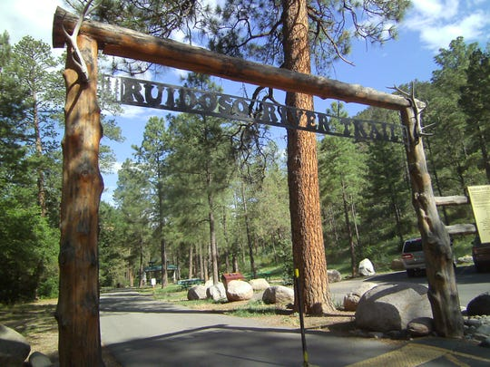 Ruidoso River Trail welcomes walkers of many abilities as the short trail meanders along the Rio Ruidoso.