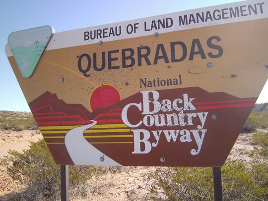 Quebradas Backcountry Byway is less than two hours'
