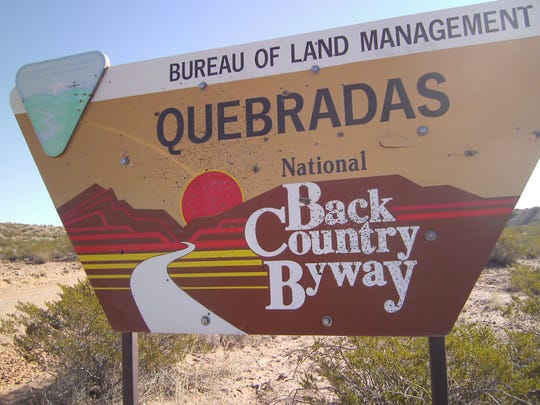 Quebradas Backcountry Byway is less than two hours' drive from Ruidoso near Socorro.