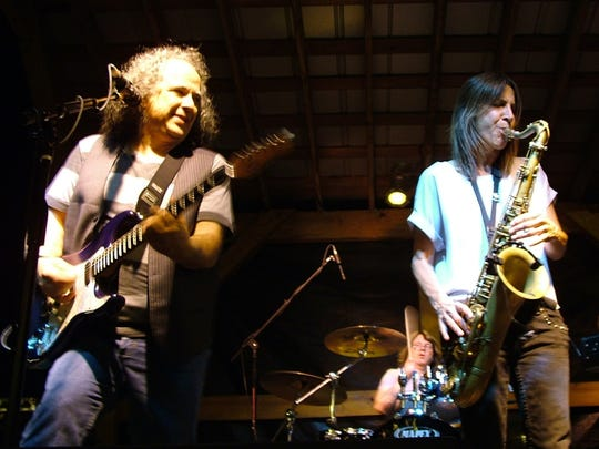 Bobby Messano, left, has toured with the likes of Steve Winwood and Lou Gramm of Foreigner, but for the past 25 years, he has concentrated on establishing himself as a blues artist.