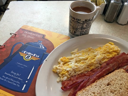 Although we love traditional breakfasts, such as this one at The Coffee Pot diner in Kenosha, our cravings nationally involve more multicultural influences.