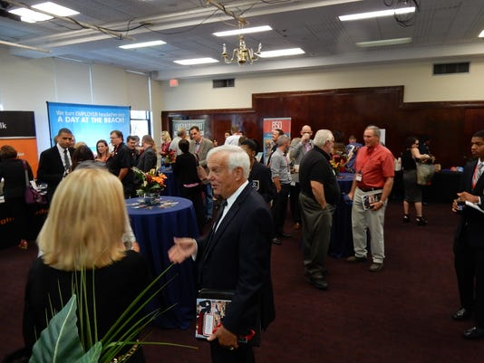 EntreCon attendees network Friday