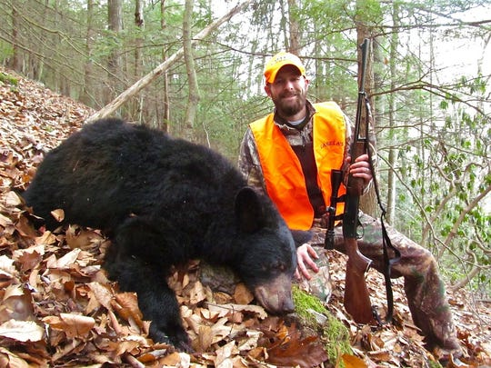 An ever-expanding black bear population means Pennsylvania bear hunters have a better chance of success, just like Jason Brown, who took his first bear last fall.