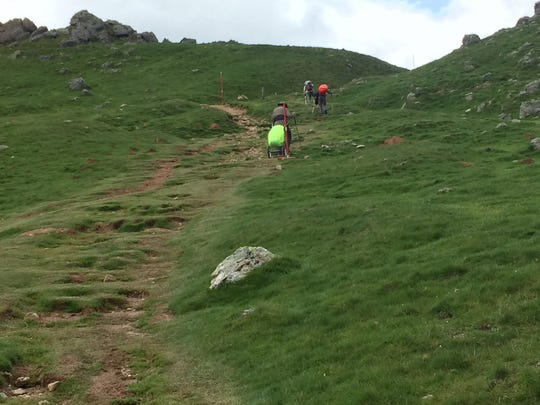 Ted Stekkinger treks over the Pyrenees along the Camino de Santiago.