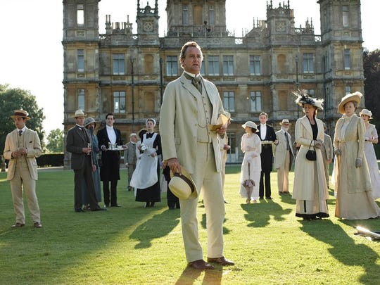"""Downton Abbey,"" the wildly popular series that re-created the life of England's empire and war years in the household of a wealthy family,  centered around Highclere Castle. It ran for six seasons in England and on PBS in the United States."
