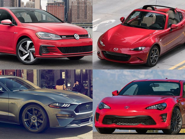 Clockwise From Upper Left 2018 Volkswagen Golf Gti
