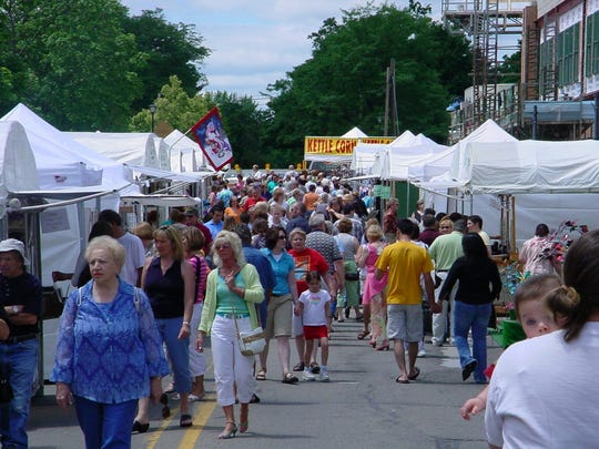 Art in the Sun, a juried outdoor art show, is part of Arts and Acts in Northville.