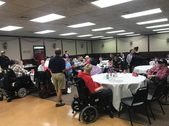 On June 10, the South Plainfield Knights of Columbus 4th Degree Bishop Charles P Greco Assembly 2147 held their annual luncheon. The luncheon was for more than 30 veterans from the Menlo Park Veterans Home who served in World War II, the Korean and Vietnam wars.