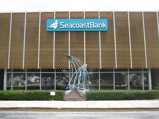 Stuart-based Seacoast Bank has purchased First Bank of the Palm Beaches.