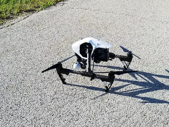 Fremont police drone used to assist authorities in searching for a fugitive.