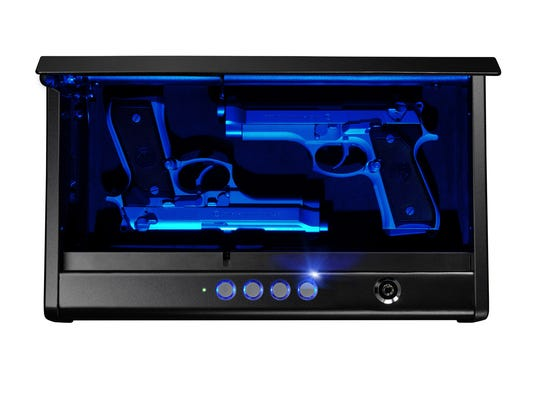 Quick Access Pistol Safe with LED Light