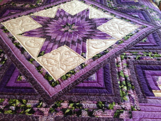 Amish quilt at Miller's Greenhouse