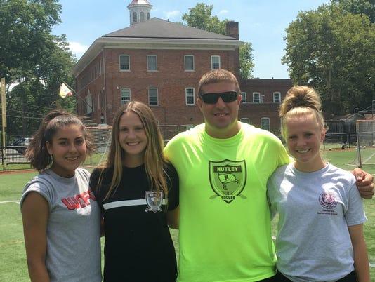 Nutley girls soccer captains