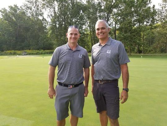 Cousins Adam, left, and Bob Crockett said it is bittersweet