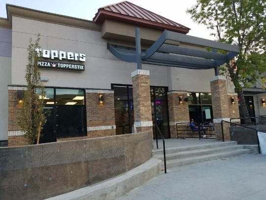 Toppers Pizza specializes in carry-out and delivery.