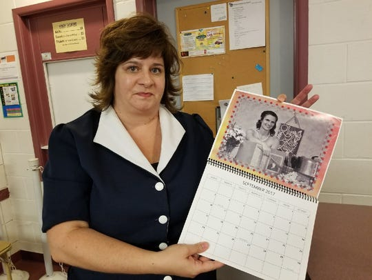 "Assistant director for ""Calendar Girls"" Lea-Ann Wilson"