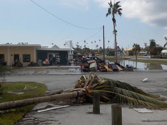 The bait shop at Everglades City.