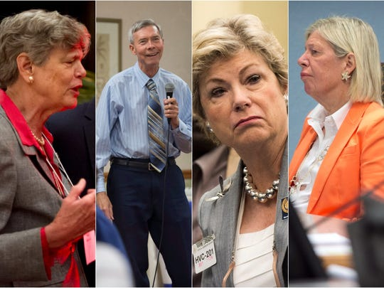 Some current and former Martin County commissioners' email practices during the Lake Point lawsuit have come under fire, including those of former commissioner Maggy Hurchalla, Commissioner Ed Fielding, former commissioner Anne Scott and Commissioner Sarah Heard.