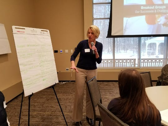 Denice Hirt, director of curriculum, assessment and