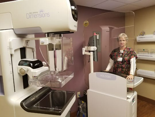 Peggy Beck, a 3-D mammography technician at ProMedica