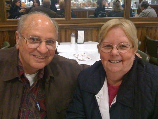 Sylvia LeBlanc with her husband, Roy LeBlanc.