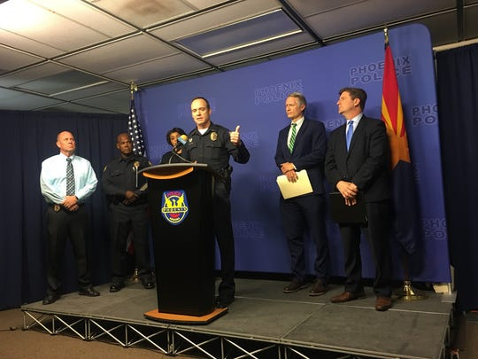 Phoenix Police Department Lieutenant Brian Freudenthal